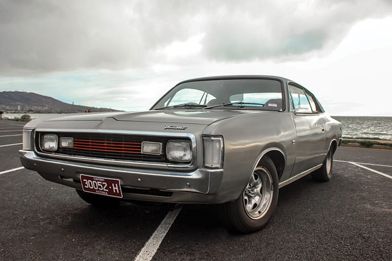 chrysler valiant charger after front