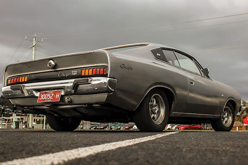 chrysler valiant charger after rear