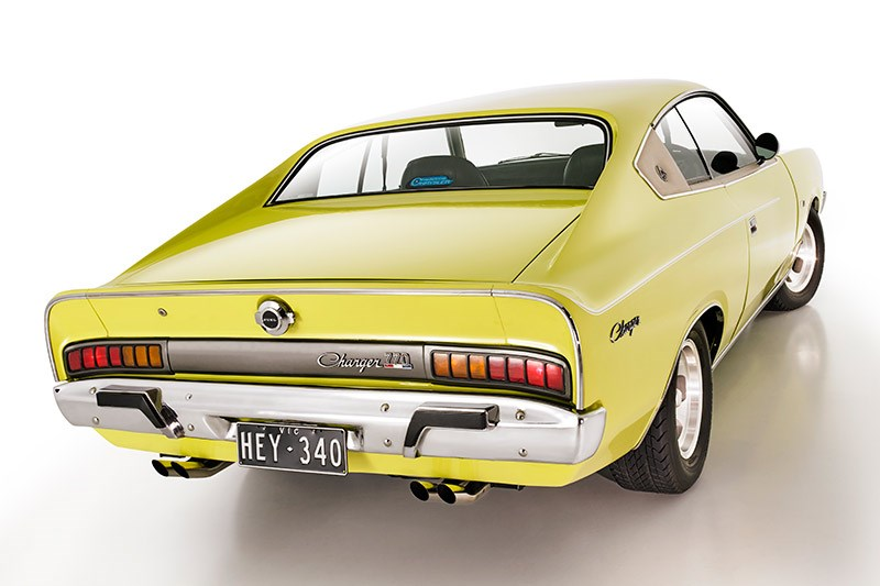 chrysler valiant charger rear angle