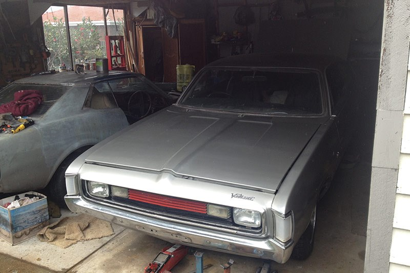 chrysler valiant charger resto front