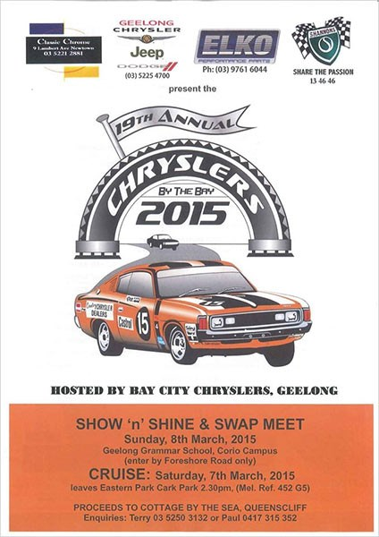 Chryslers by the Bay 2015