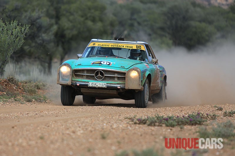 classic outback trial mercedes benz