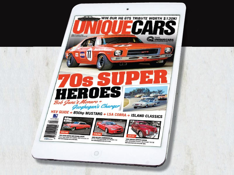 Unique Cars on iPad