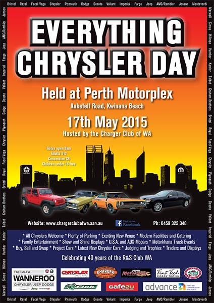 everything chrysler day 2015 flyer