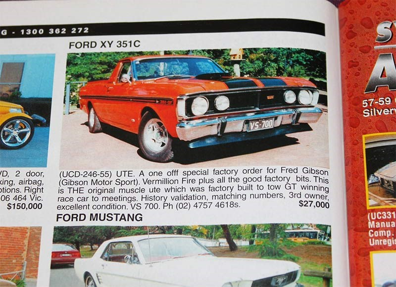 Ford XY Falcon GS351 Utility