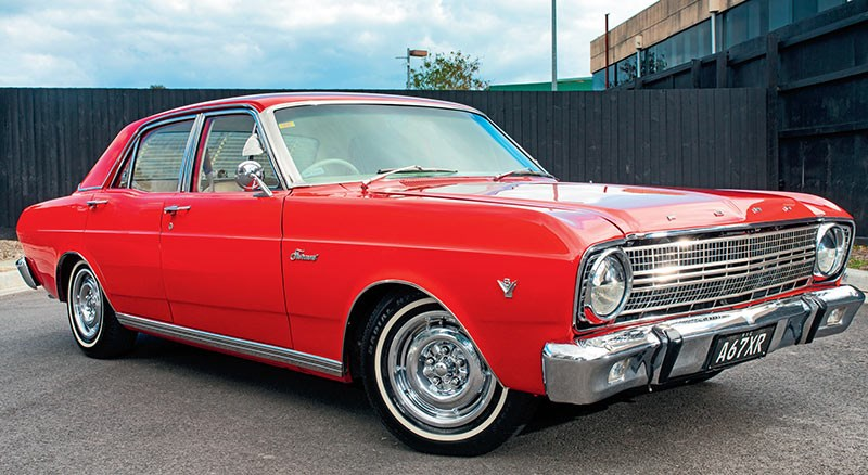 Vince Mortale's 1967 Ford XR Fairmont