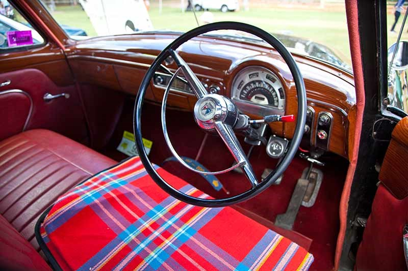 ford customline interior