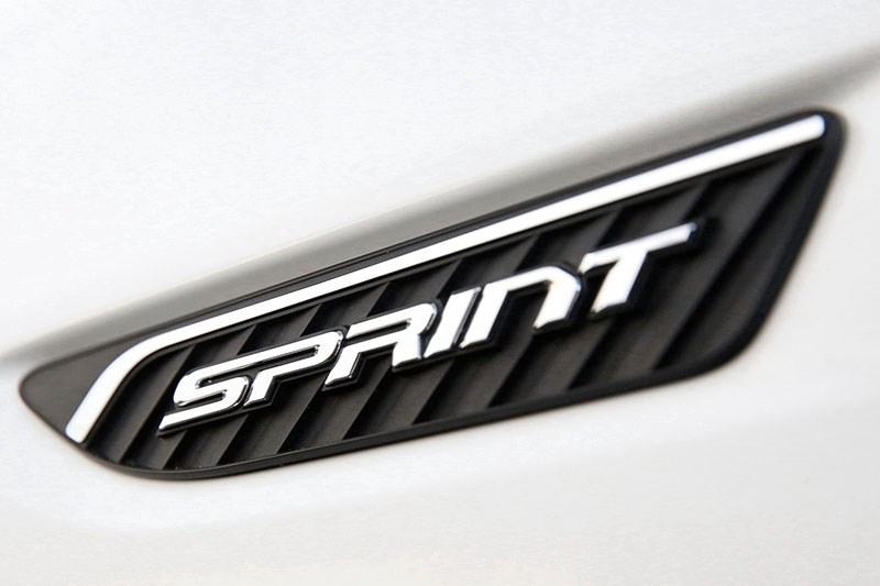 ford falcon sprint badge