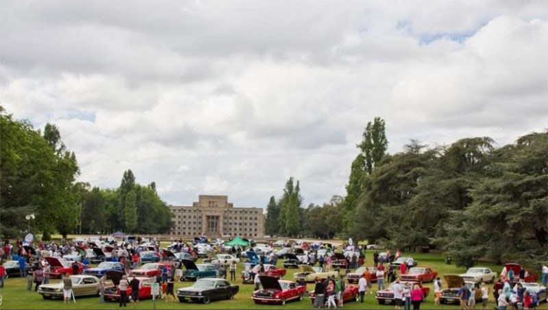 Canberra Mustang Show 2013. Photo: Spider Photography