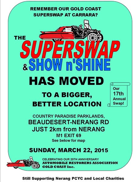 Gold Coast Super Swap Meet/Show n Shine