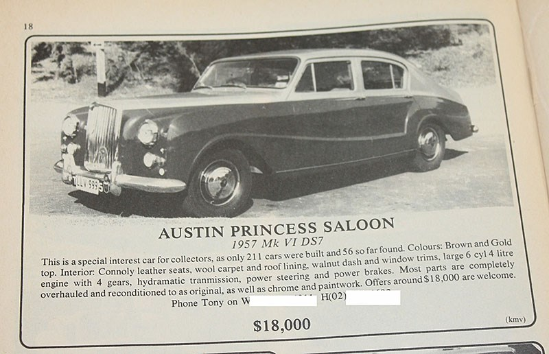 gotAUSTIN PRINCESS NOV 86