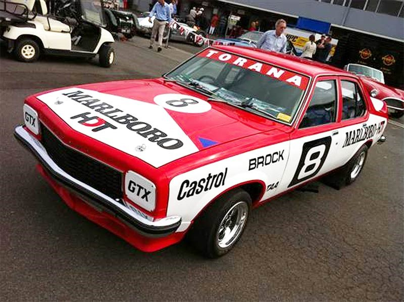 Restored Marlboro Holden Dealer Team SL/R 5000 Torana