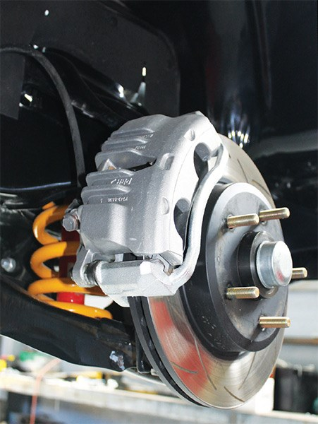 """We're proud to say everything is Australian-made, including DBA discs and PBR callipers"""