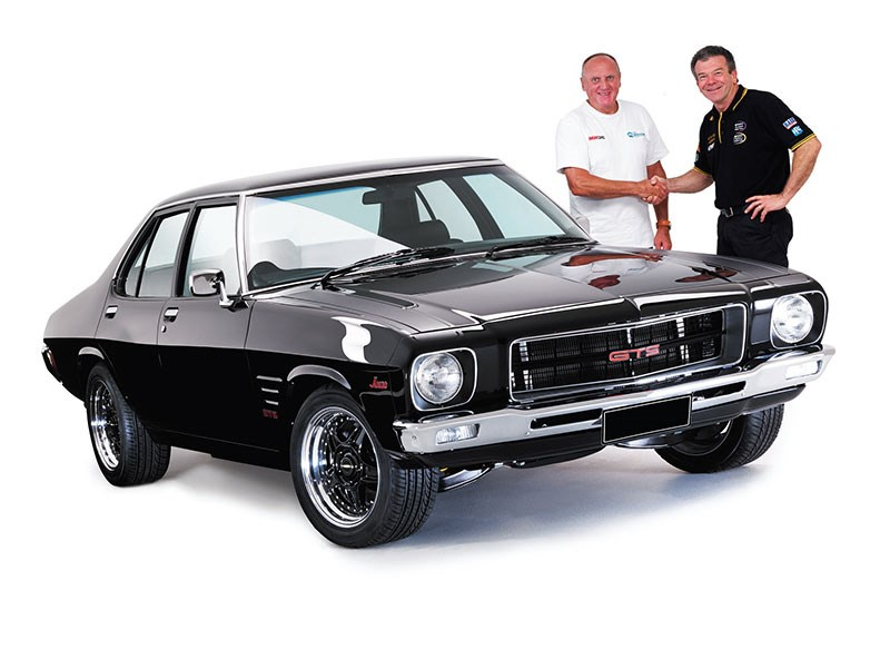 Uncle Phil and Gary O'Brien from Bendigo Retro Muscle Cars