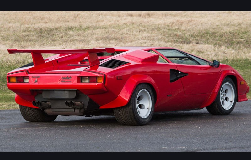 lamborghini countach lp5000 qv rear