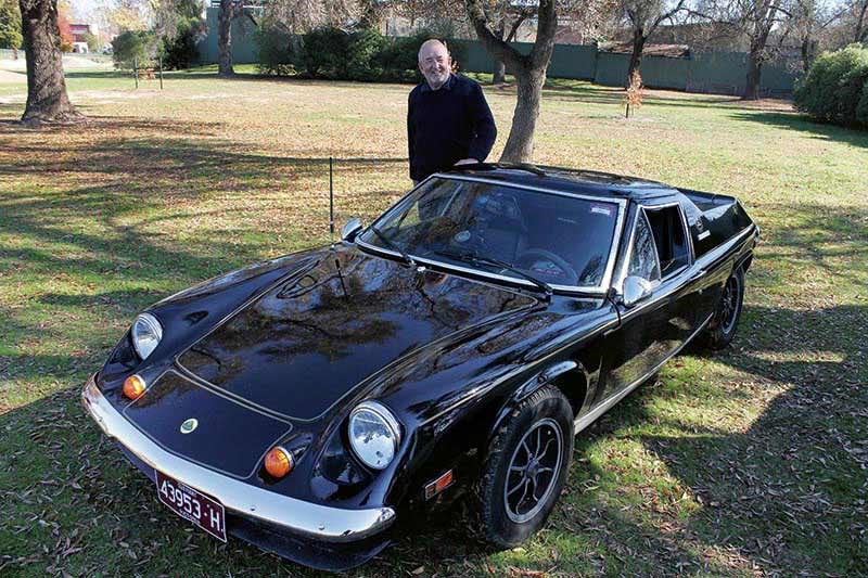 Mal Wutherspoon's 1973 Lotus Europa S2