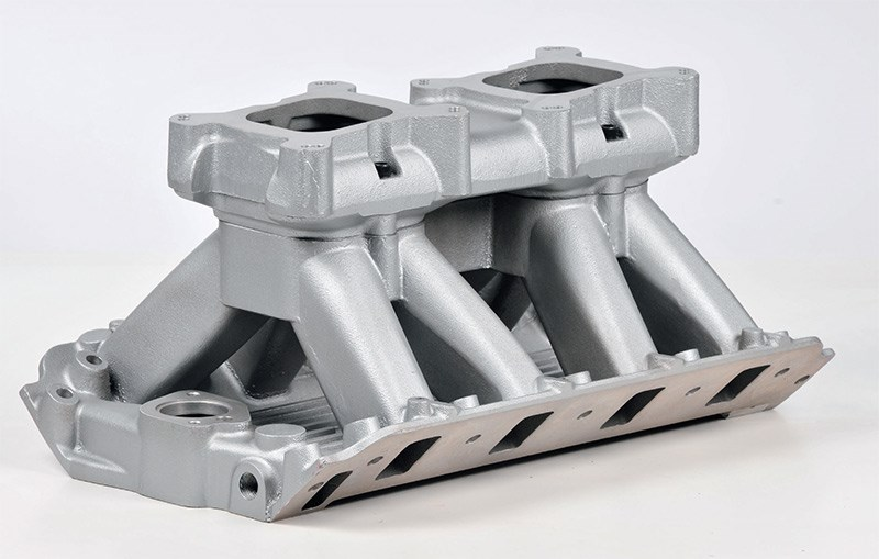 A tunnel-ram manifold suited to a high-performance motor only