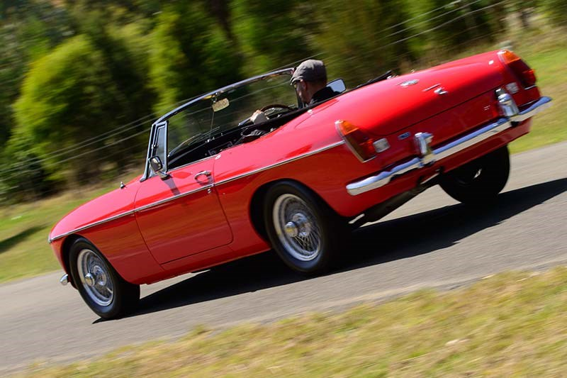 mgb onroad rear