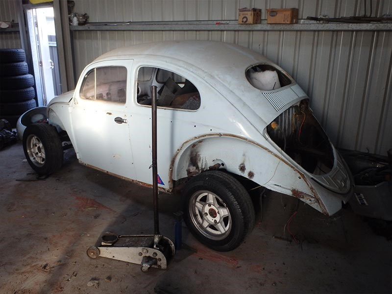 moving shed vw beetle 5