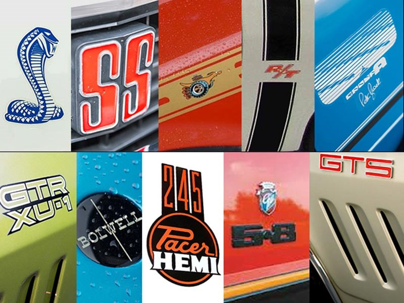 muscle car banner