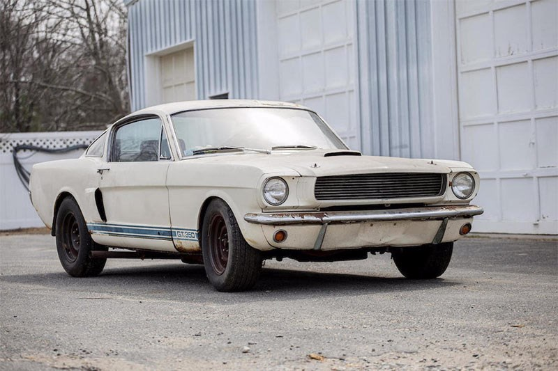 mustang gt350 shelby auction