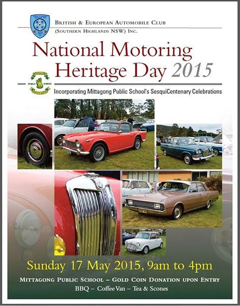 BEAC National Motoring Heritage Day 2015