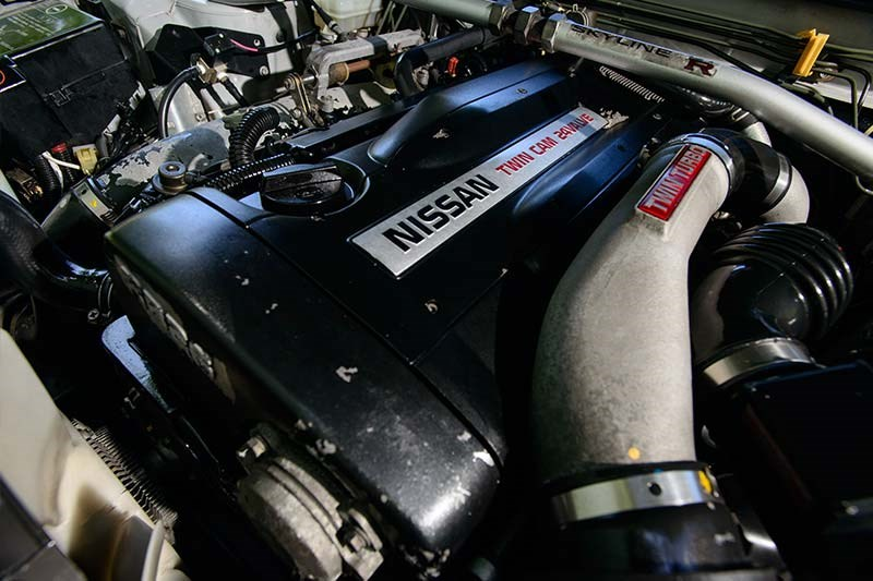 nissan skyline engine 4