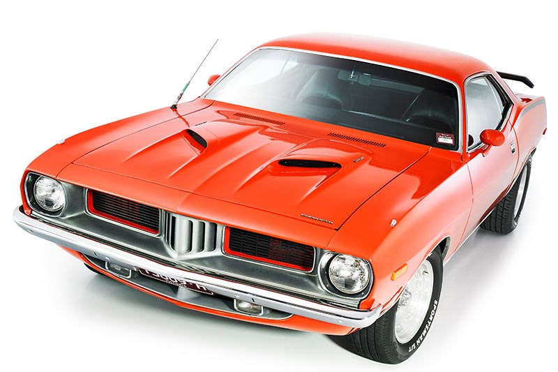 plymouth barracuda front