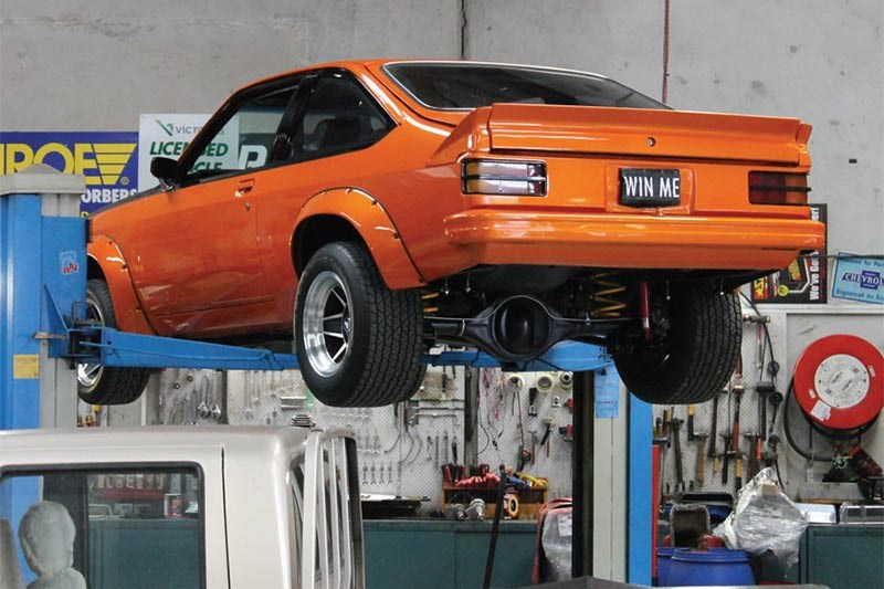 project torana on hoist