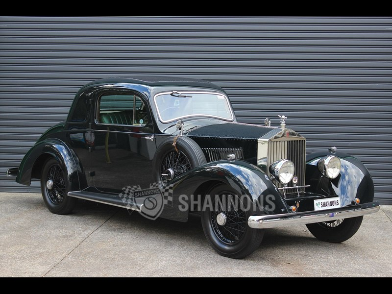 shannons1929 rolls royce 2025 martin king coupe