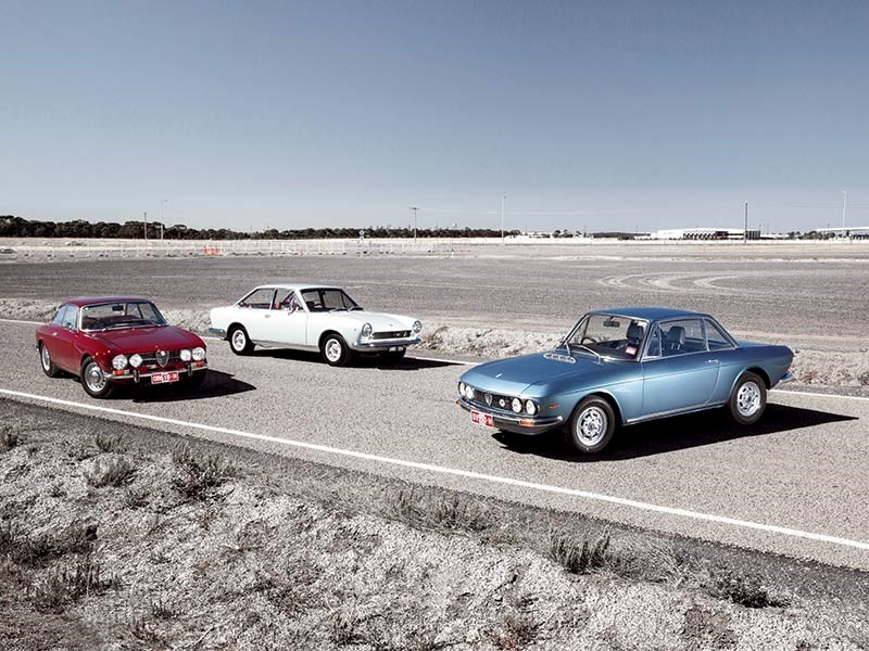 Affordable Italians: Fiat, Lancia, Alfa Romeo