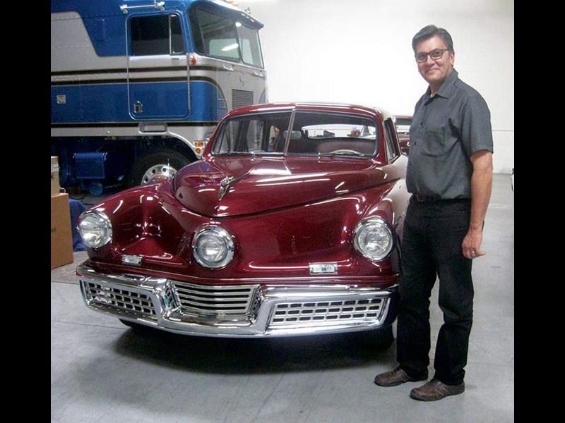 Mark Lieberman and his Tucker