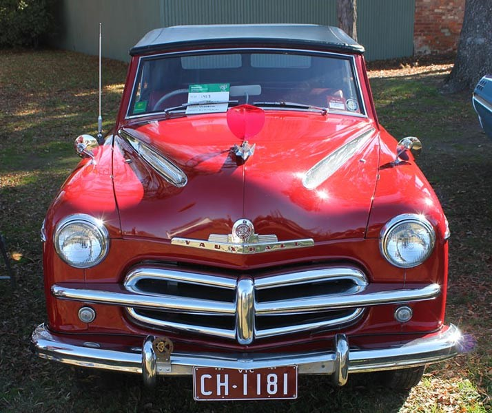 Castlemaine Historic Vehicle Club National Motoring Heritage Day 2015