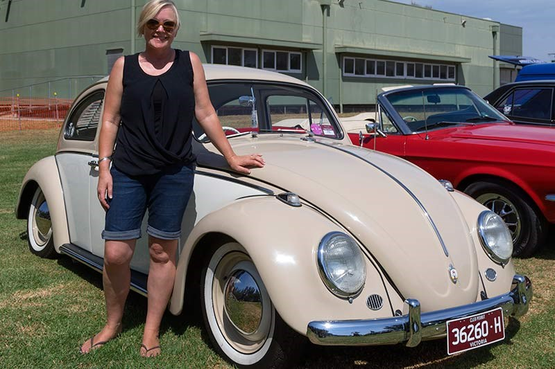 Natalie Kenny's VW Beetle
