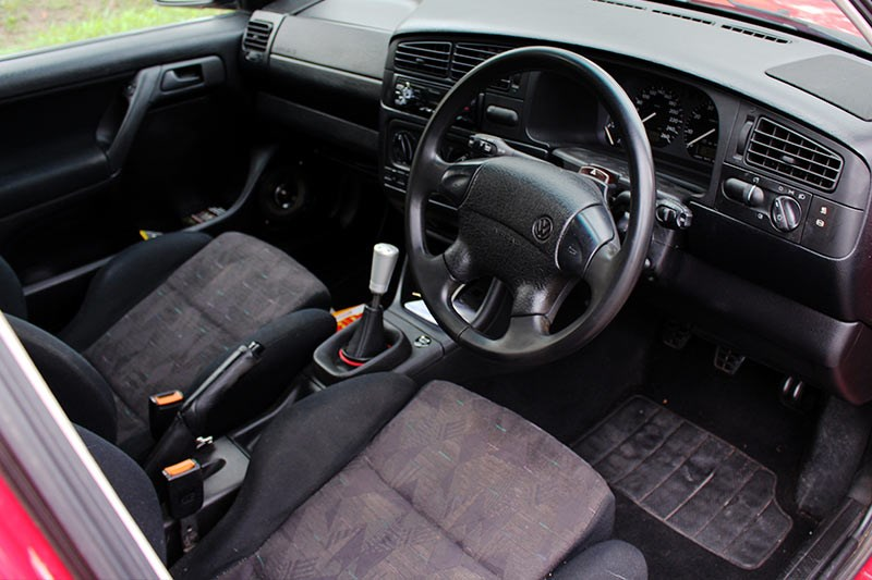 vw golf vr6 interior front