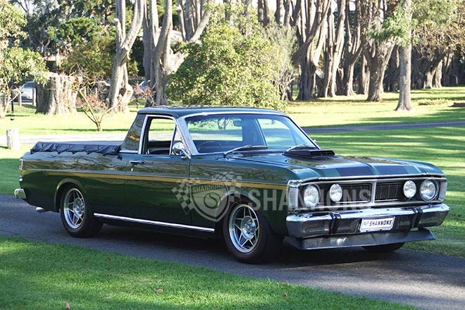 1971 Ford XY Falcon 351 V8 ute – sold $34,000