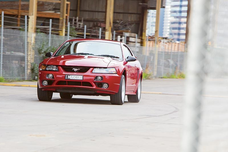 Tickford-Converted Mustang Cobra
