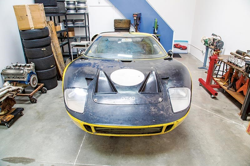 Ford GT40 barnfind