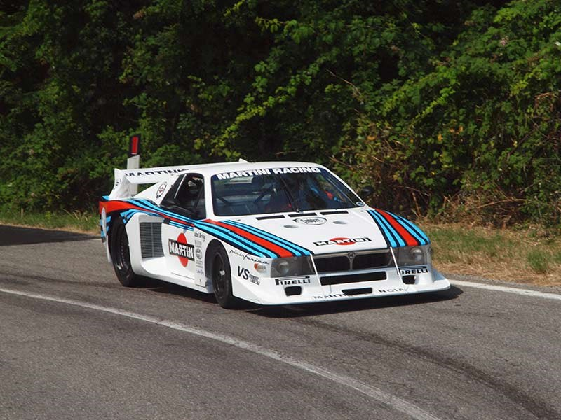 Beta Montecarlo-based Group 5 sports car