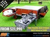 MARKET DIRECT CAMPERS CRUIZER HIGHSIDE FF CAMPER TRAILER