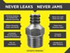 NEVALEAK GREASE FITTING/COUPLER