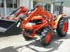 KUBOTA GL-29DT TRACTOR + FRONT END LOADER, 4 IN 1 BUCKET, SLASHER, CARRY ALL & SPRAY TANK