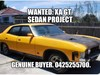 1972 FORD FALCON GT - WANTED