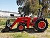 MASSEY FERGUSON 240 TRACTOR WITH FEL
