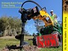2017 DIGGA ML-2 Mini Auger Drive Unit 2 way swing suit Mini loaders [ATTAUG]