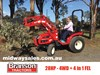 2017 BRANSON 2900 TRACTOR WITH 4 IN 1 FEL