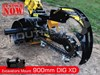 2017 DIGGA 900MM 900mm XD Hydraulic Trencher suit 4.5 to 8 Ton Excavators 60-115 LPM
