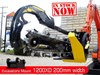 2017 DIGGA 1200MM 1200mm Hydraulic Trencher 200mm cut width suit 4 to 8T Excavators