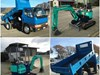 1995 MITSUBISHI CANTER TRUCK AND DIGGER PACKAGE