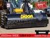 2018 DIGGA 2500 MM ENCLOSED BUCKET BROOM Sweeper suit Skid Steer loaders[ATTBOM]